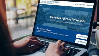 Imágen web de AFIP