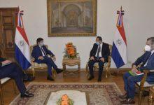reunión CAF en Paraguay